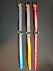 "1"" Center Ring Reflective Dog Collars"