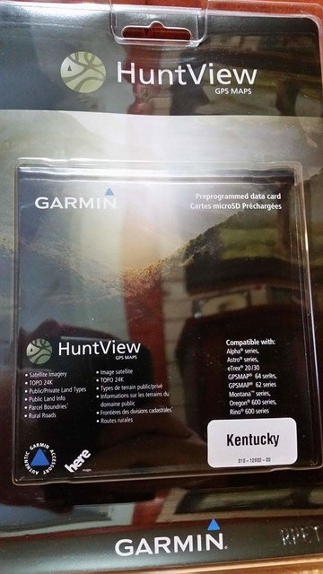 Garmin Hunt View Maps