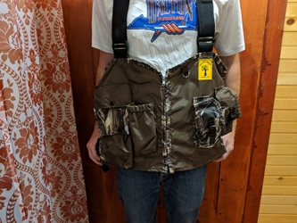 Valley Creek Small Game Vest Brown/Camo