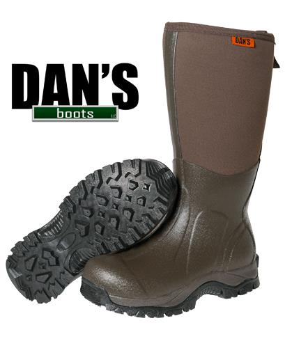 Dans Frogger Boot Without Chap
