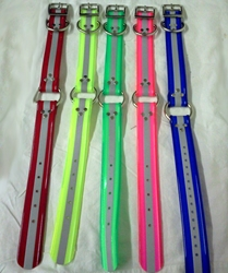 1 1/2 Inch Center Ring Day-Glo Collars