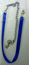 Leash - Nylon and Chain